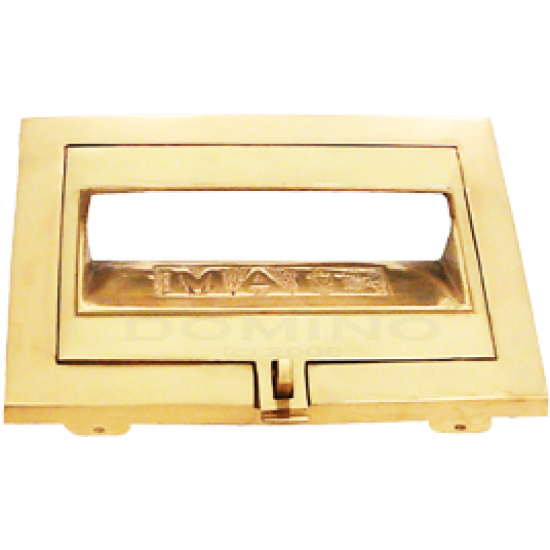 MB 1940 Brass Front Open Plate