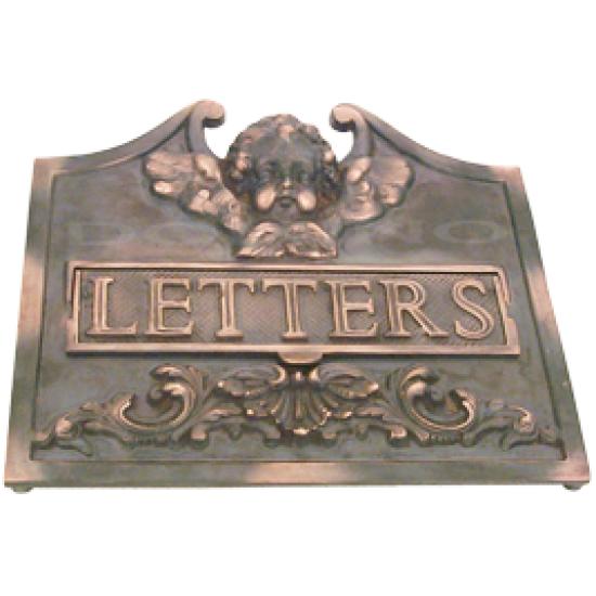 MB 9205 Brass Mailbox Cover
