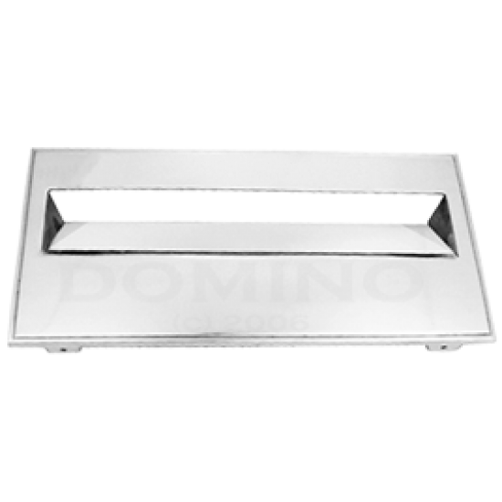 MB 9210 Brass Letterbox Front Plate