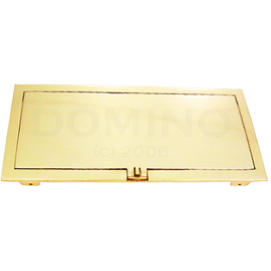 MB 9211 Brass Letterbox Back Plate