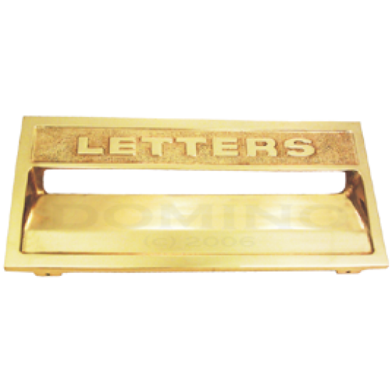 MB 9215 Brass Mailbox Cover Plate