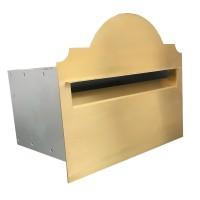 Hampton Brass A4 Letterbox