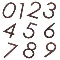 135mm Rustic Numeral Sandleford