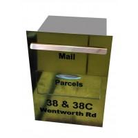 Parcel Bin Copper Letterbox