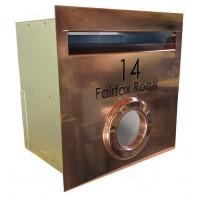 A4 Copper Mailbox/PH
