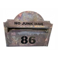 Hampton Copper Mailbox