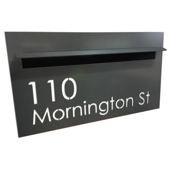 Modern A4 style letterbox