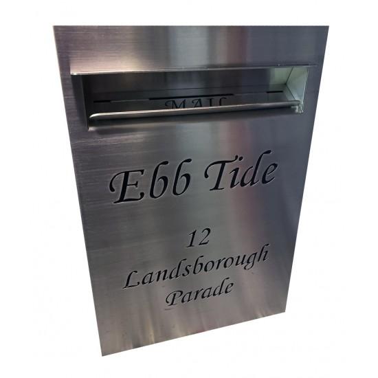 Palissade Slimline Letterbox Stainless Steel