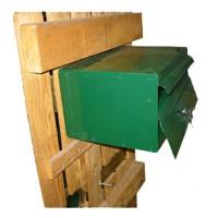Aluminium Fence Letter Box