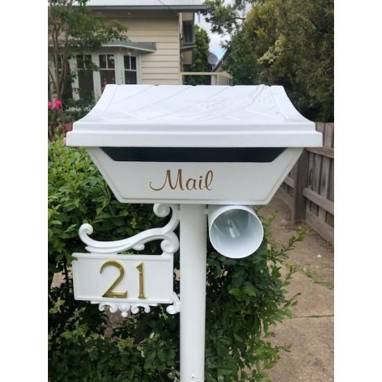 Gumleaf Letter Box Classical