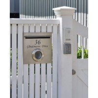 A4 Stainless Mailbox/PH