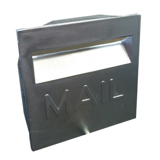 MM 200 Square Brickin Letterbox