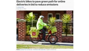 Australia Post Goes Green