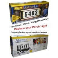 240V House Light Numbers
