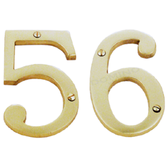 NN 403 - 75mm Letterbox Numbers