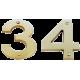 LA 433 - 75mm Numbers