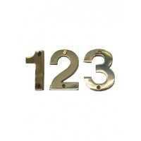 Brass Letterbox Number 75mm