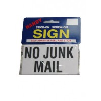 No Junk Mail Large