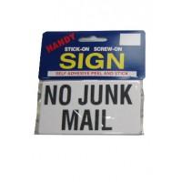 No Junk Mail Large