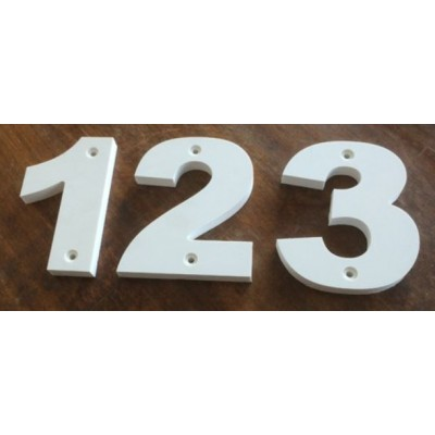 150mm Chunky House Numbers