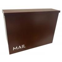 Casa Letterbox Rust