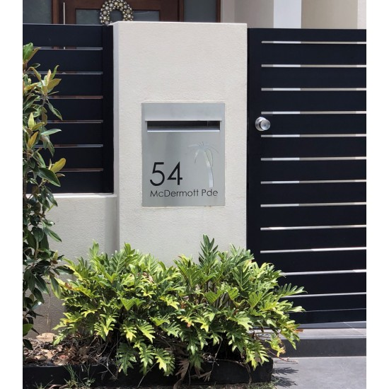 Tropicana Stainless Letterbox Stainless Steel