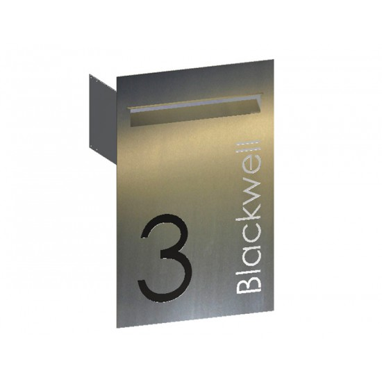 Blackwell Stainless Letterbox Stainless Steel