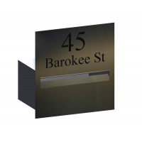 Highview Stainless Letterbox