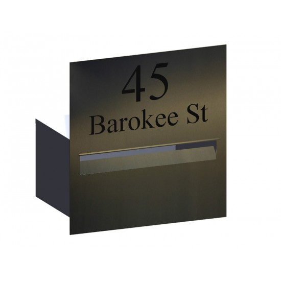 Highview Stainless Letterbox Stainless Steel