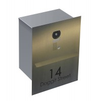 Intercom/ Parcel Box Stainless Letterbox Special