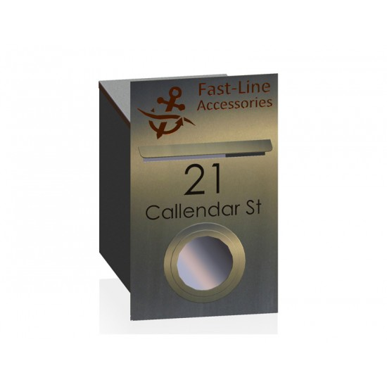 Jackson Stainless Letterbox Stainless Steel