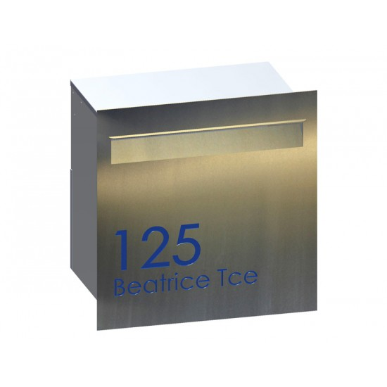 Malcolm Stainless Letterbox