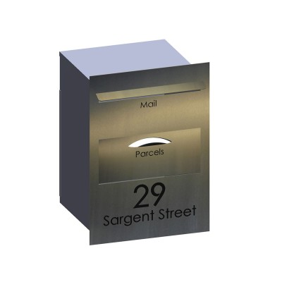 Stainless Parcel Box Letterbox