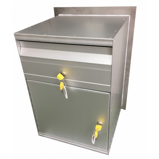 Stainless Parcel Box Letterbox Stainless Steel