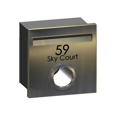 Sky Court Stainless Letterbox