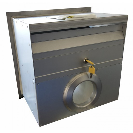 A4 Stainless Mailbox/PH Stainless Steel