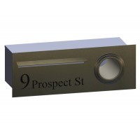 Tanderra Stainless Letterbox