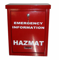 hazardous materials box