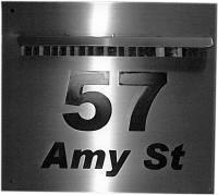 numbered mailbox